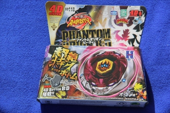 1 parça BEYBLADE Fight Phantom Orion 4D Alt B: D Sistemi + Launcher Beyblade BB118