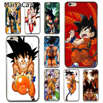 MaiYaCa Dragonball Dragon ball Z Sagas Kid Goku Coque Kabuk Telefon Kılıfı için Apple iPhone 8 7 6 6 S Artı X 5 5 S SE 5C Kapak